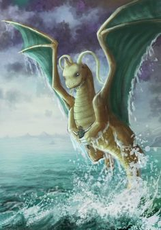 Dragonite - realistic Pokemon