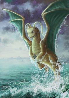 Dragonite - realistic Pokemon