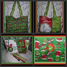 another unique Grinch purse, one of a kind and for sale here:  http://cgi.ebay.com/ws/eBayISAPI.dll?ViewItem=290953085483