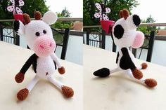 #kuh #cow #crochet #häkeln #handmade #handarbeit