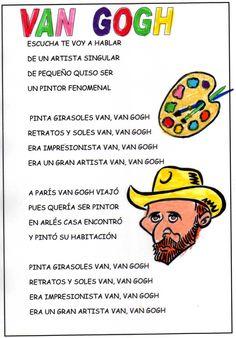 """Cançó de Van Gogh amb la música de """"En el auto de papá"""" dels pallassos de la tele."""