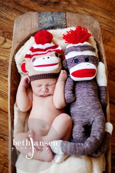 Beth Jansen Photography - How great are sock monkeys?