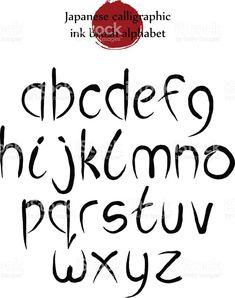 Vecteur Défini Lettres de l'Alphabet D