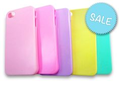 Cute Plain Pastel Coloured #iPhone 4 or 4S Case. #PhoneCase #iPhone4