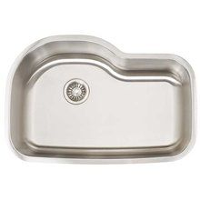"View the Artisan AR3120-D10 31"" Undermount Single Basin 16 Gauge Stainless Steel Kitchen Sink from the Premium Collection at FaucetDirect.com."