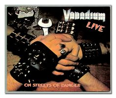 "VANADIUM ON STREETS OF DANGER LIVE FOC 12"" VINYL LP"