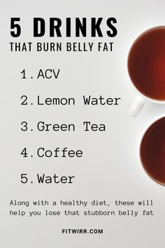 Stomach Fat Burning Foods, Best Fat Burning Foods, Fat Burning Detox Drinks, Weight Loss Drinks, Weight Loss Smoothies, Fast Weight Loss, Lose Weight, Fat Fast, Lose Fat