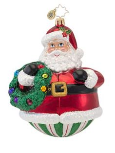 Christopher Radko - Presently Patched Ornament - Saks.com