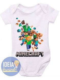 Body Infantil - Minecraft