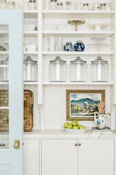 Kitchen Pantry, Kitchen And Bath, Kitchen Decor, Kitchen Ideas, Open Pantry, Pantry Room, Kitchen Styling, Kitchen Furniture, Layout Design