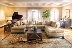 more inspiration....LOVE this couch....