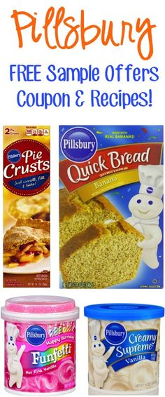 Pillsbury FREE Sample Offers, Coupons, and Recipes!!