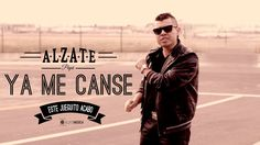 YA ME CANSE - ALZATE - (VIDEO OFICIAL) Daddy Yankee, Music Songs, Youtube, Outdoors, Education, Popular Music, Love, Music Download, Music Videos