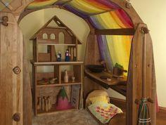 Teto da casinha arco íris Teto da casinha arco íris