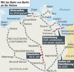 Bahnverbindung an die Ostsee: Schneller ans Meer | Berlin- Berliner Zeitung