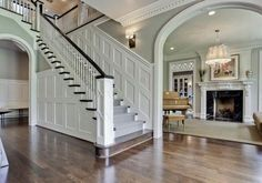Wainscoting Styles Ideas For Stairs