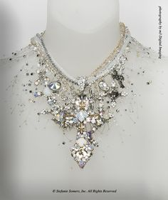 """""""Snow White Goes Goth"""" – Custom Jewelry from The Stefanie Somers Collection"""
