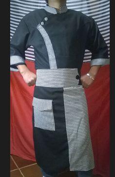 Chaquetas de chef 4478779 - 945152574 Miraflores - Lima Bal Gopal, Hotel Uniform, Restaurant Uniforms, Formal Suits, Honda Civic, Apron, Trousers, Sewing, Coat