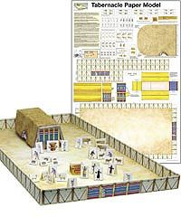 Tabernacle Paper Model - This full-color scale Tabernacle Model Kit includes the…