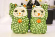 ちっちゃくてかわいい九谷焼の招き猫 | 阪急阪神百貨店・ライフスタイルニュース