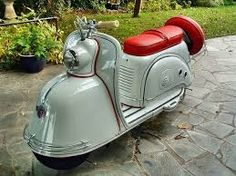 Image result for 1950s scooters