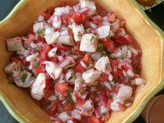 Strawberry Ceviche Recipe   POPSUGAR Food