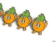 [허핑턴포스트코리아 인터뷰] 서울에서 유일무이한 디저트 플리마켓 과자전을 만드는 사람들 Mascot Design, Badge Design, Character Drawing, Character Design, Monster Characters, Japanese Characters, Retro Illustration, Comic Styles, Cute Pins