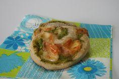Girelle di pizza con zucchine e speck