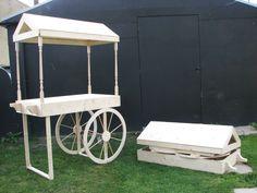 Sweet cart. Candy cart