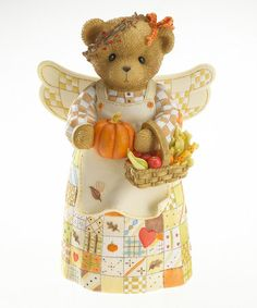 Autumn Angel of the Sea Figurine by Cherished Teddies on #zulily--WANT