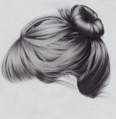 Amazing Pencil Drawings of Hair.  This looks so much like my hair it's scary.