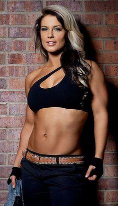WWE Diva Kaitlyn, she won the NXT season 3