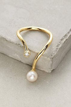 Dewy Pearl Ring #AnthroFave