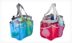 Groupon - $ 6.99 for a Honey Can Do Mesh Shower Tote in Blue or Pink ($ 10.99 List Price). Free Returns.. Groupon deal price: $6.99