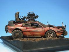 Ferrari Mad Max 1/24 Scale Model: