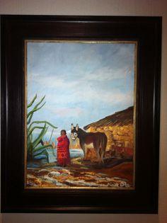 Artist: Anna Lamprecht Oil Painting