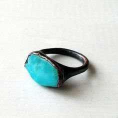 turqoise - is my favourite colour. And this ring is very pretty!