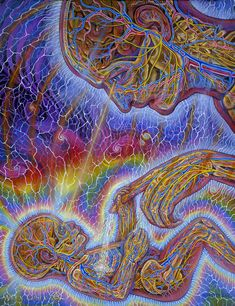 Young and Old - 2002 - Alex Grey - www.alexgrey.com