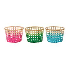 IKEA - GADDIS, Panier, coloris assortis, 32 cm, , Tressé à la main, chaque panier est unique.