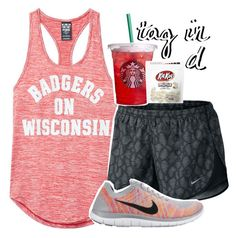 """""""random tag in the d"""" by madfashionaddict ❤ liked on Polyvore featuring NIKE"""