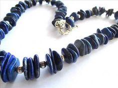 Bijuterii Lapis Lazuli: cercei, bratari, coliere si seturi.