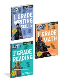 Grade 1 Trilogy Star Wars Workbook Set