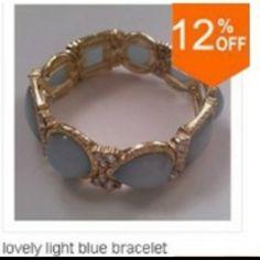 bracelet light blue Jewelry Bracelets