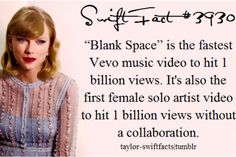 Swift facts! This girl slays