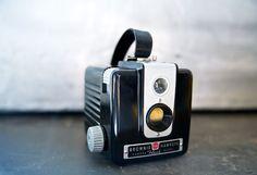 Vintage Kodak Brownie Hawkeye   Original Box w/ Flash Film Accessories by ReneeVintage