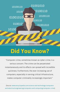 Did You Know About Cyber-crime? #Cybercrime #CompuService