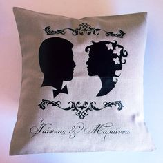 custom made couple Custom Made, Throw Pillows, Couple, Gifts, Wedding, Cushions, Presents, Mariage, Decorative Pillows
