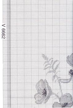 ru / Foto nº 4 - 52 - Cross Stitching, Cross Stitch Embroidery, Cross Stitch Patterns, Flower Embroidery, Stitch 2, Cross Stitch Flowers, Needlepoint, Poppies, Free Pattern