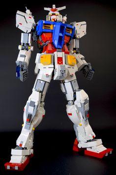 https://flic.kr/p/Lcbwn6 | LEGO GUNDAM RX-78-2
