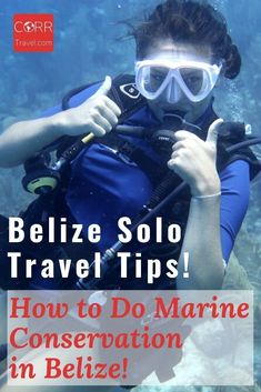 Diving is one of the top things to do in Belize so why not volunteer while diving? Here is how I did coral reef protection #Volunteer work in BEAUTIFUL #Belize as part of my solo travel and Belize solo travel tips on how you can too! By @corrtravel #CORRTravel Solo Travel Tips | Solo Female Travel Tips | Over 40 Travel | Voluntourism Travel | Eco Friendly Travel Tips | Sustainable Travel Tips | International Travel Tips | Travel Tips and Tricks | Retirement Travel Ideas Solo Travel Tips, International Travel Tips, Marine Conservation, Belize Travel, Travel Guides, Trip Planning, Travel Destinations, Eco Friendly, Coral